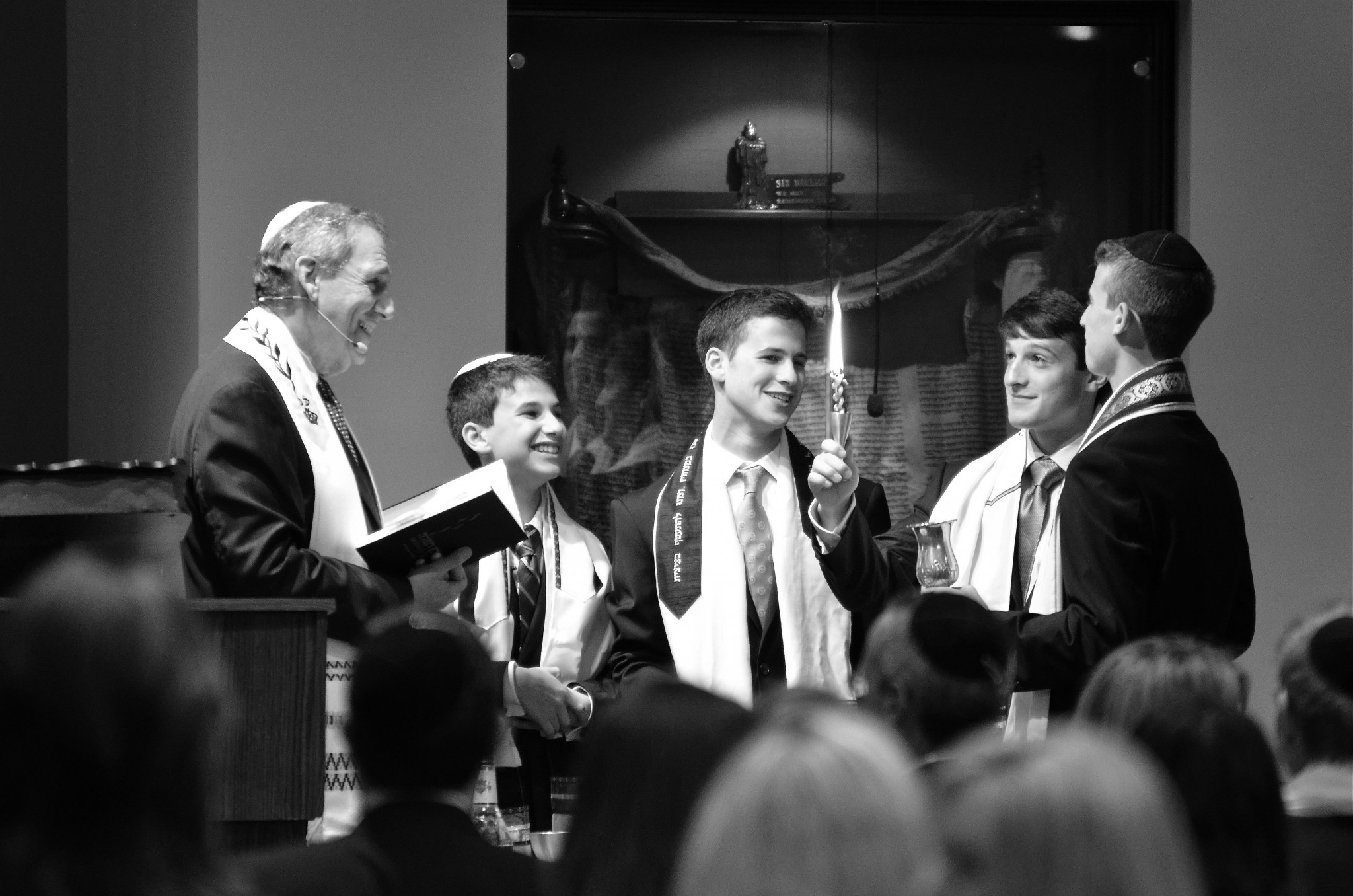 DYLAN'S BAR MITZVAH, TEMPLE DOR DORIM, WESTON, FLORIDA