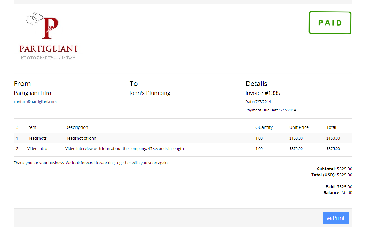 invoice screenshot png invoicing for photographers