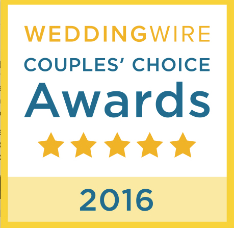 WEDDINGWIRE COUPLE'S CHOICE.