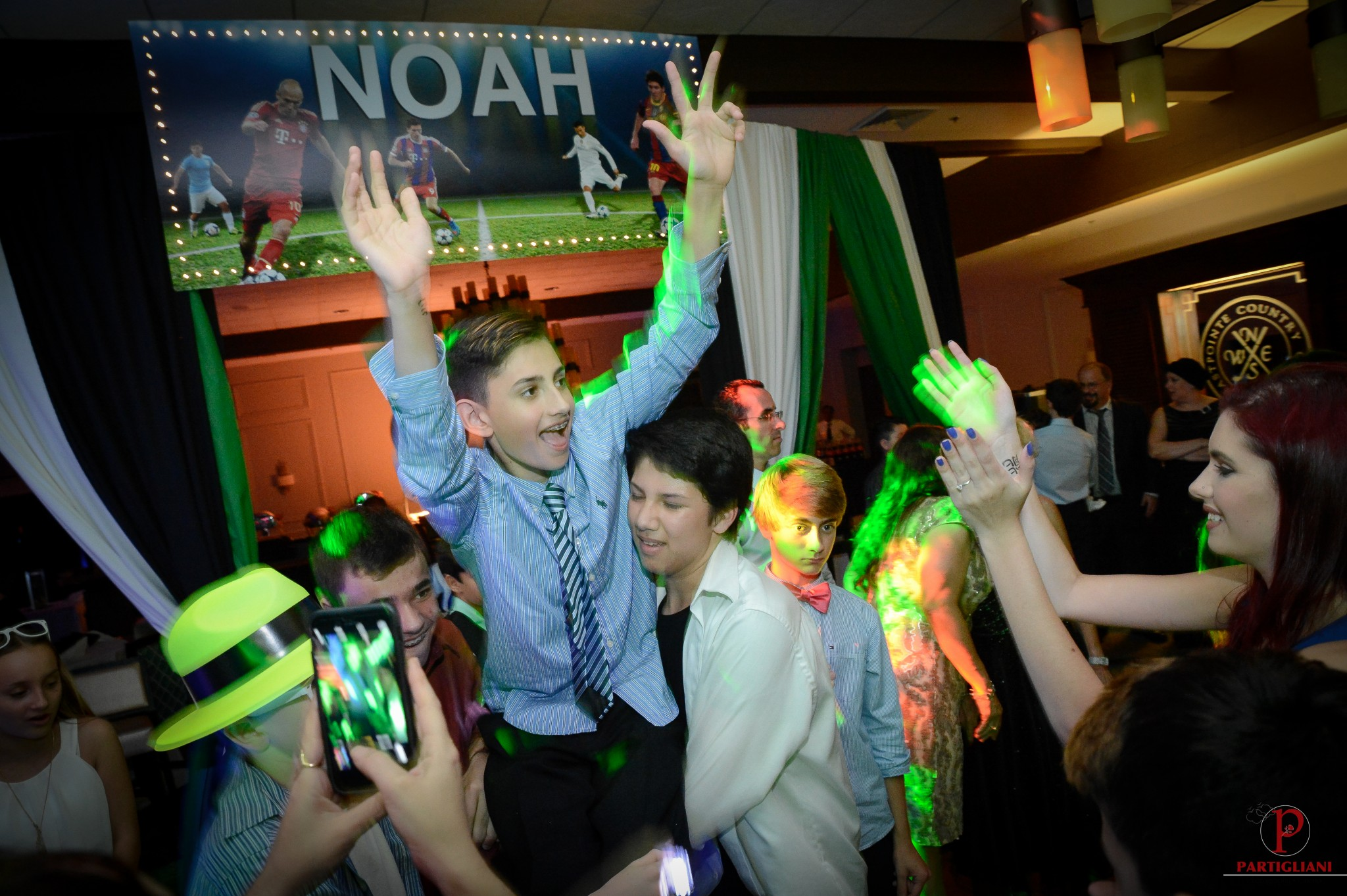 NOAH'S BAR MITZVAH, EASTPOINTE COUNTRY CLUB, TEMPLE JUDEA PALM BEACH GARDENS, DALSIMER ATLAS FLORIST, OMGG EVENTS