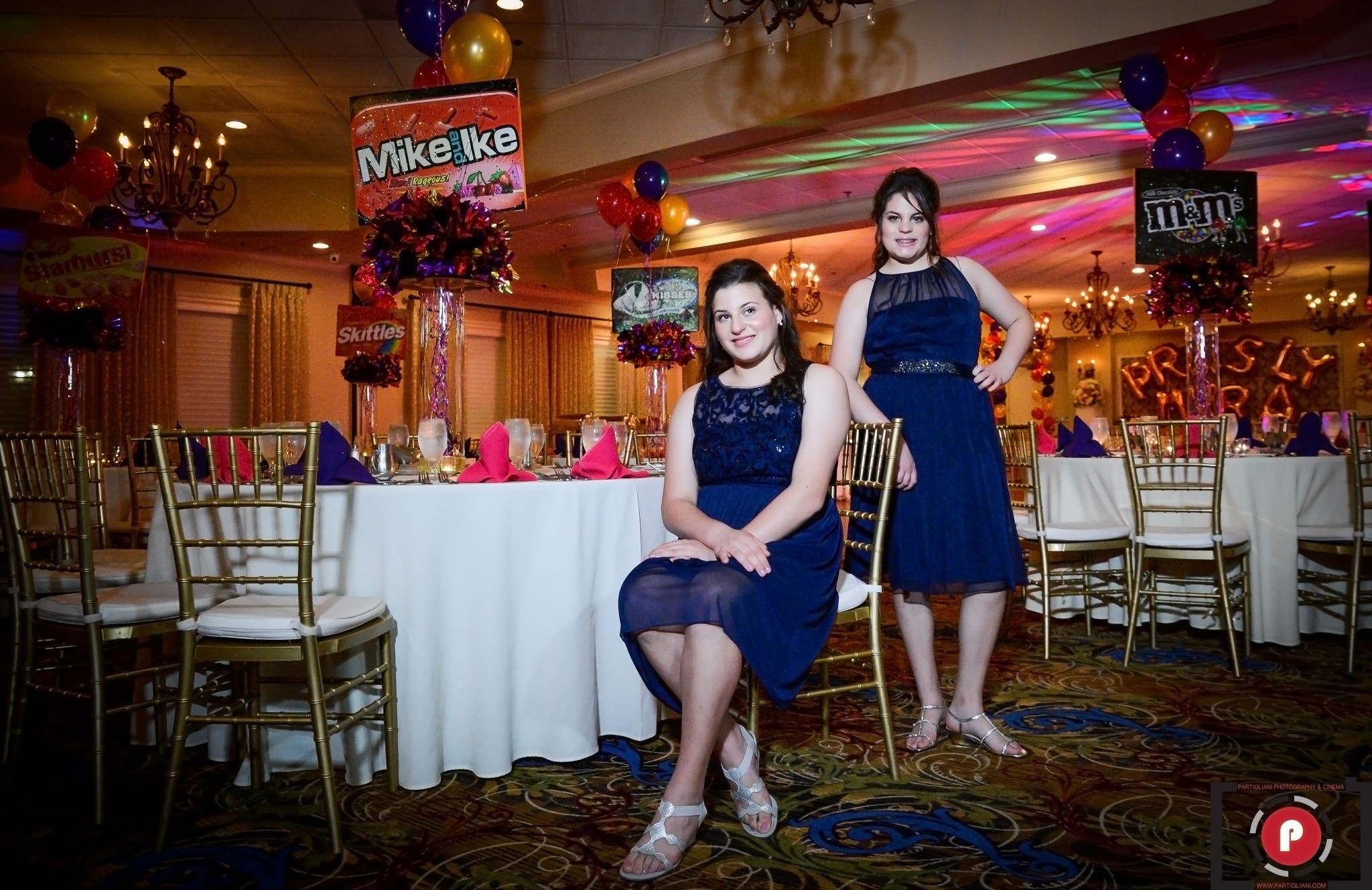 MIRA AND PRESLY B'NOT MITZVAH, WESTCHESTER COUNTRY CLUB. PURE ENERGY ENTERTAINMENT. KISH EVENTS AND DECOR.