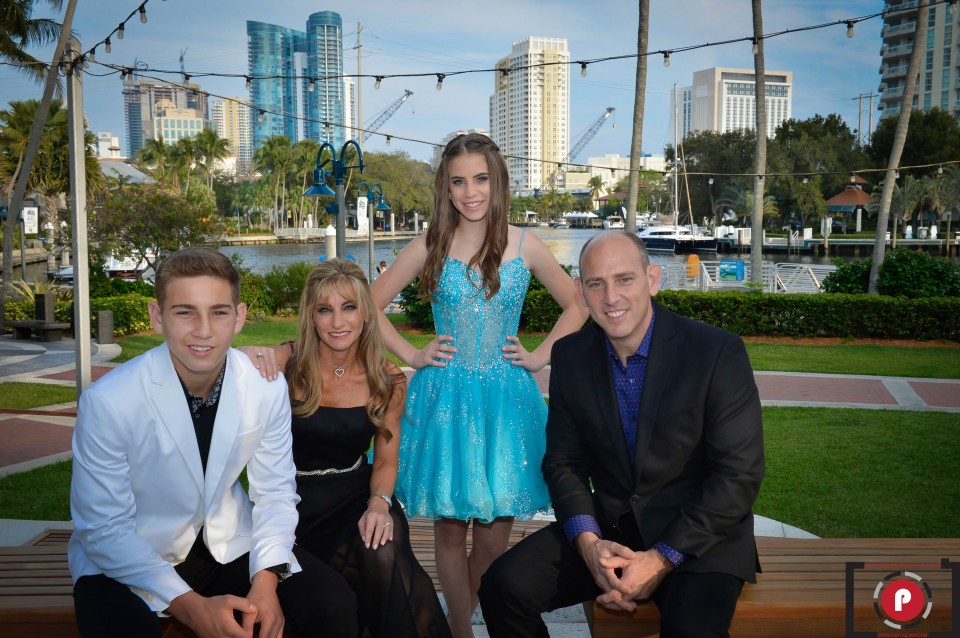 BROWARD CENTER FOR THE PERFOMING ARTS. PARTIGLIANI PHOTOGRAPHY, ALLY'S BAT MITZVAH-1
