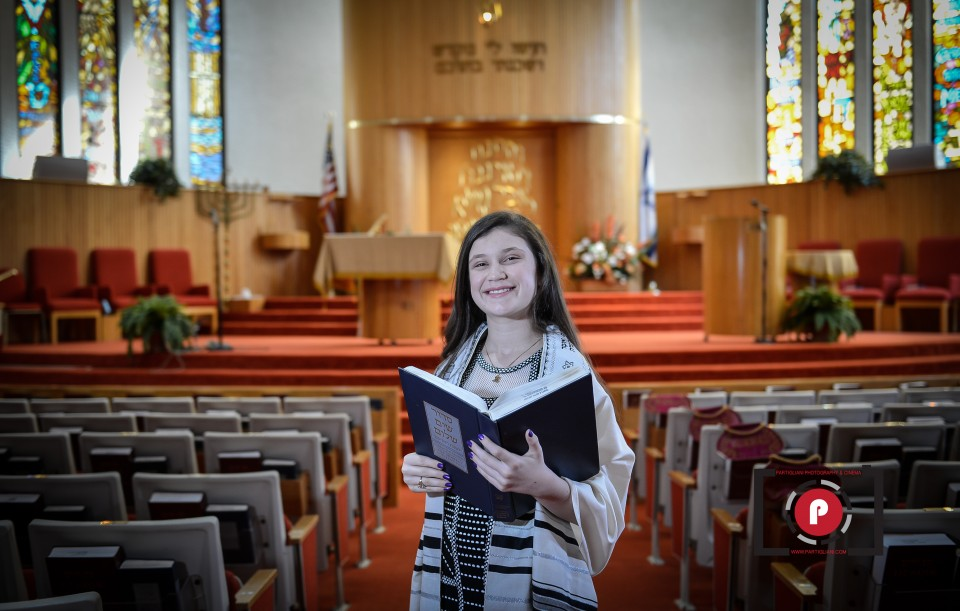 TEMPLE BETH TIKVAH, GREEN ACRESS, ALEXIS BAT MITZVAH-1