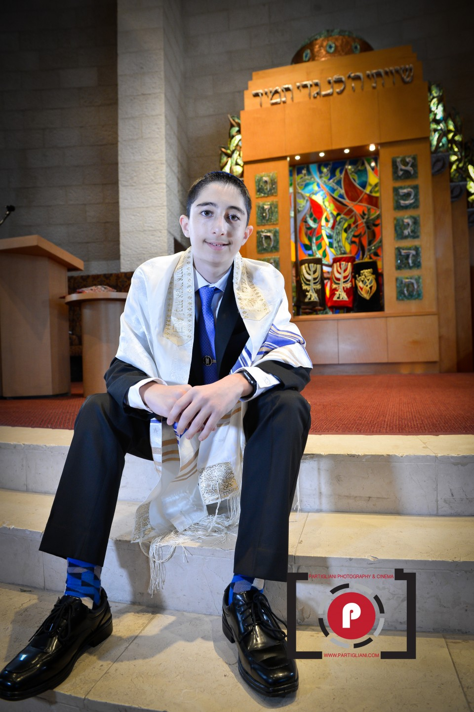 TEMPLE BETH EMET, PARTIGLIANI PHOTOGRAPHY, JEREMY'S BAR MITZVAH-3
