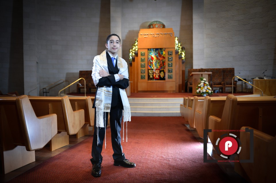 TEMPLE BETH EMET, PARTIGLIANI PHOTOGRAPHY, JEREMY'S BAR MITZVAH-9