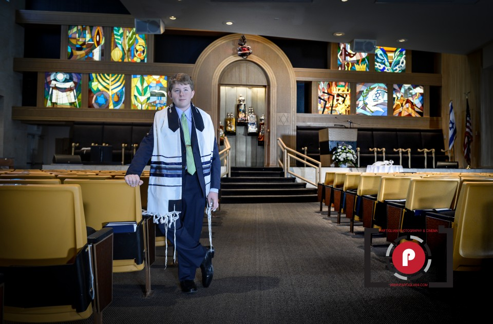 TEMPLE SOLEL, PARTIGLIANI PHOTOGRAPHY, SIMON'S BAR MITZVAH-3