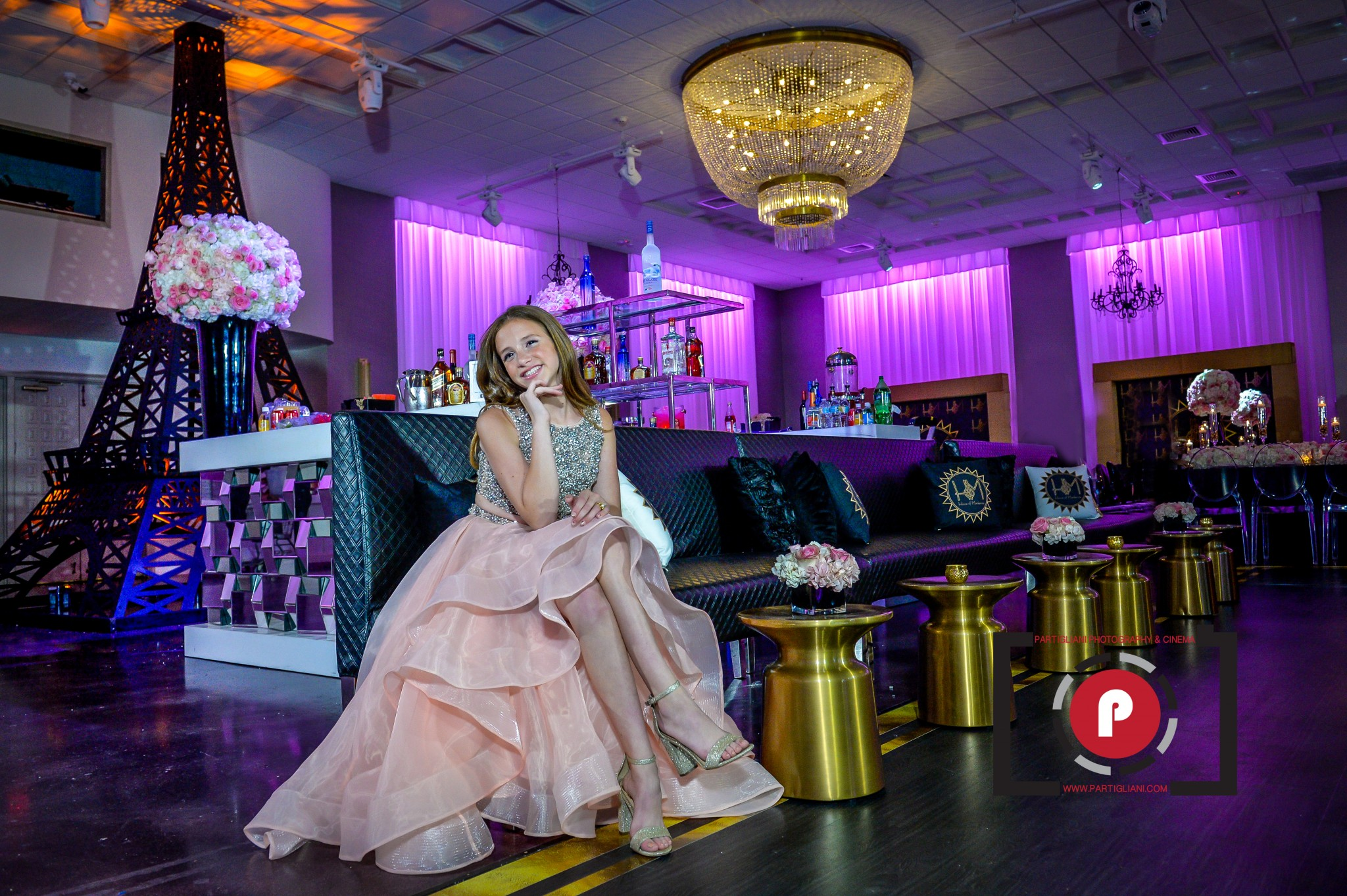 MACKENZIE BEHLMAN BAT MITZVAH. TEMPLE BETH SHALOM, MIAMI BEACH. EMANUEL LUXURY VENUE, LIFE OF THE PARTY EVENTS – DESIGN & PRODUCTIONS, TRIPLE P ENTERTAINMENT, ELV CATERING. KEEP STILT WALKING.